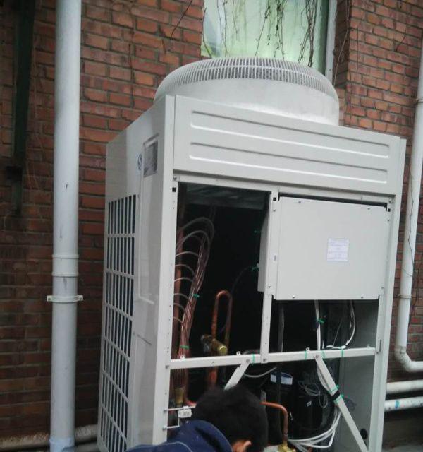格力直流变频空调安装